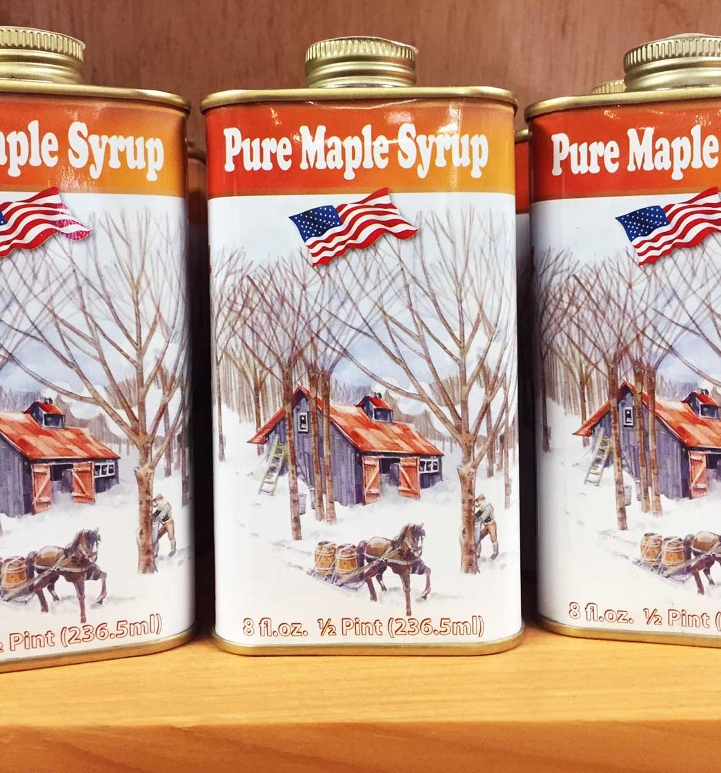 Tin Half Pint - Pure Vermont Maple Syrup