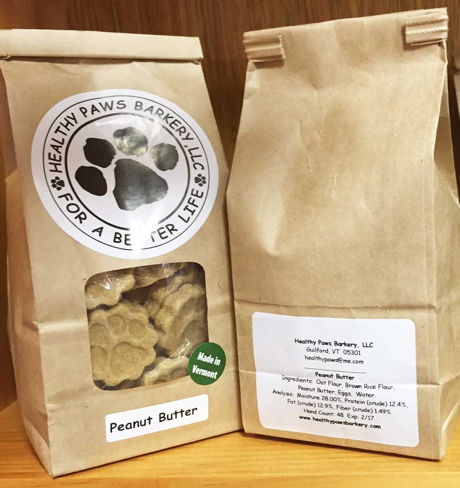 Healthy Paws Barkery - Peanut Butter Dog Treats