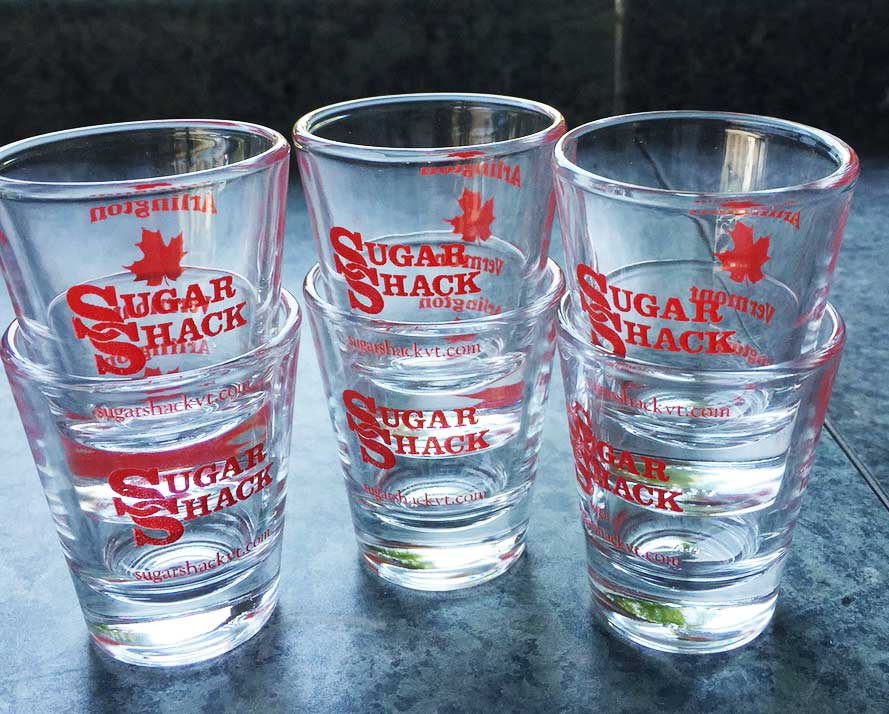 Sugar Shack Shot Glass