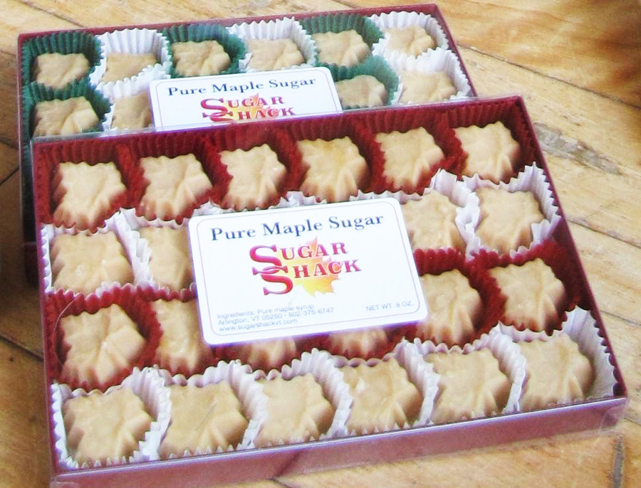 24 Piece Maple Candy